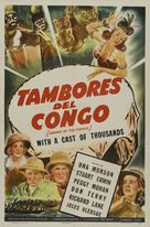 Drums of the Congo - Argentinian Movie Poster (xs thumbnail)