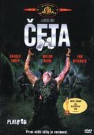 Platoon - Czech DVD movie cover (xs thumbnail)