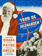 Miracle on 34th Street - Danish Movie Poster (xs thumbnail)