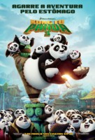 Kung Fu Panda 3 - Brazilian Movie Poster (xs thumbnail)
