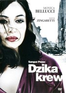 Sangue pazzo - Polish DVD cover (xs thumbnail)