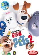 The Secret Life of Pets 2 - Danish DVD movie cover (xs thumbnail)