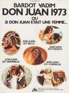 Don Juan ou Si Don Juan était une femme... - French Movie Poster (xs thumbnail)