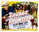 Savage Frontier - Movie Poster (xs thumbnail)