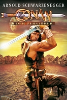 Conan The Destroyer - German DVD movie cover (xs thumbnail)
