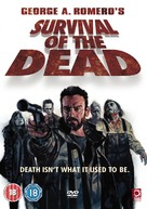 Survival of the Dead - British Movie Cover (xs thumbnail)