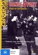 Bande à part - DVD cover (xs thumbnail)