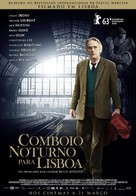 Night Train to Lisbon - Portuguese Movie Poster (xs thumbnail)