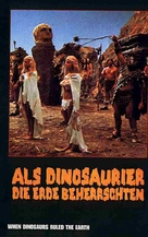 When Dinosaurs Ruled the Earth - German Movie Cover (xs thumbnail)