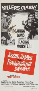 Jesse James Meets Frankenstein's Daughter - Australian Movie Poster (xs thumbnail)