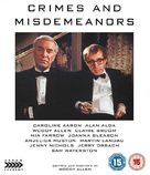 Crimes and Misdemeanors - British Movie Cover (xs thumbnail)