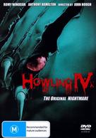 Howling IV: The Original Nightmare - Australian DVD cover (xs thumbnail)