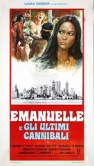 Emanuelle e gli ultimi cannibali - Italian Movie Poster (xs thumbnail)