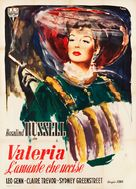 The Velvet Touch - Italian Movie Poster (xs thumbnail)