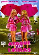 Blonde and Blonder - Brazilian DVD movie cover (xs thumbnail)