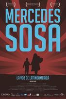 Mercedes Sosa: La voz de Latinoamérica - Argentinian Movie Poster (xs thumbnail)