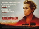 Three Billboards Outside Ebbing, Missouri - British Movie Poster (xs thumbnail)