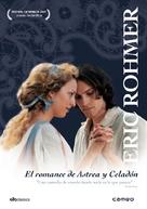 Les amours d'Astrée et de Céladon - Spanish DVD cover (xs thumbnail)