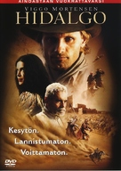 Hidalgo - Finnish DVD movie cover (xs thumbnail)