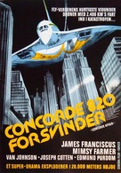 Concorde Affaire '79 - Danish Movie Poster (xs thumbnail)