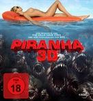 Piranha - German Blu-Ray movie cover (xs thumbnail)