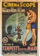 Beneath the 12-Mile Reef - Italian Movie Poster (xs thumbnail)