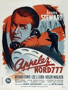 Call Northside 777 - French Movie Poster (xs thumbnail)