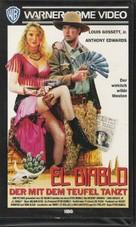 El Diablo - German VHS cover (xs thumbnail)