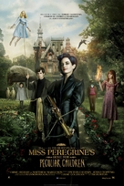 Miss Peregrine's Home for Peculiar Children - Danish Movie Poster (xs thumbnail)