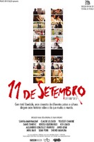 11'09''01 - September 11 - Brazilian Movie Poster (xs thumbnail)