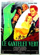 The Green Glove - French Movie Poster (xs thumbnail)