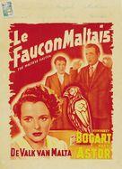 The Maltese Falcon - Belgian Movie Poster (xs thumbnail)