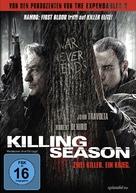 Killing Season - German DVD cover (xs thumbnail)