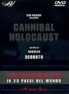 Cannibal Holocaust - Italian DVD movie cover (xs thumbnail)