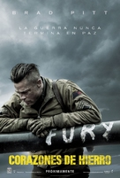 Fury - Mexican Movie Poster (xs thumbnail)