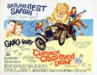 Clarence, the Cross-Eyed Lion - Theatrical poster (xs thumbnail)