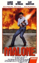 Malone - Norwegian VHS movie cover (xs thumbnail)