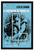 The L-Shaped Room - Spanish Movie Poster (xs thumbnail)