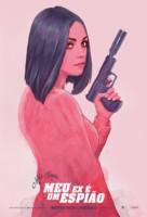 The Spy Who Dumped Me - Brazilian Movie Poster (xs thumbnail)