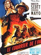 Westbound - French Movie Poster (xs thumbnail)