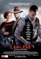 Lawless - Australian Movie Poster (xs thumbnail)