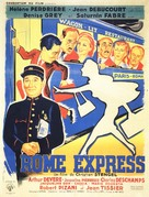 Rome-express - French Movie Poster (xs thumbnail)
