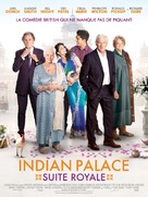 The Second Best Exotic Marigold Hotel - French Movie Poster (xs thumbnail)