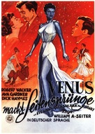 One Touch of Venus - German Movie Poster (xs thumbnail)