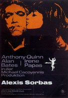 Alexis Zorbas - German Movie Poster (xs thumbnail)