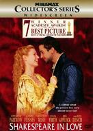 Shakespeare In Love - DVD movie cover (xs thumbnail)