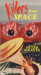 Killers from Space - VHS cover (xs thumbnail)