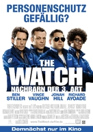 The Watch - German Movie Poster (xs thumbnail)
