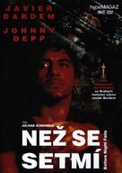 Before Night Falls - Czech DVD cover (xs thumbnail)