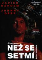 Before Night Falls - Czech DVD movie cover (xs thumbnail)